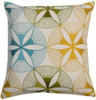 YAMINI Embroidered Cushions Cover(30 cm*30 cm, White)
