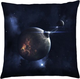 Magical Knots Printed Cushions Cover(40 cm*40 cm, Multicolor)