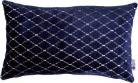 Purple Threads Geometric Cushions Cover(30 cm*50 cm, Dark Blue)