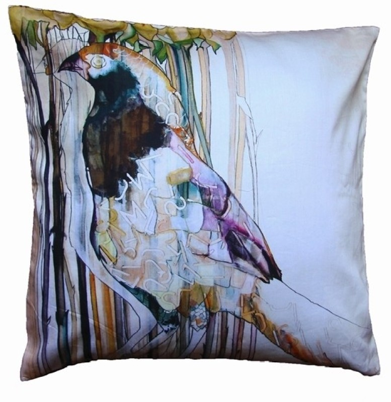 Indian Colours Abstract Cushions Cover(41 cm*41 cm, Multicolor)
