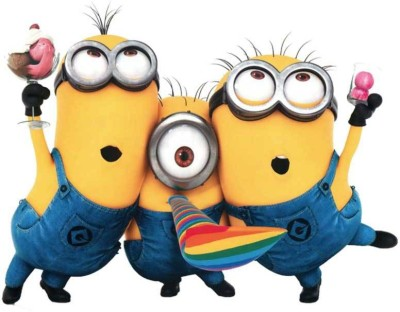 Party Propz Minion Cardboard Cut-outs(1)