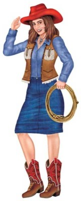 Party Propz Farm House Cardboard Cut-outs(1)