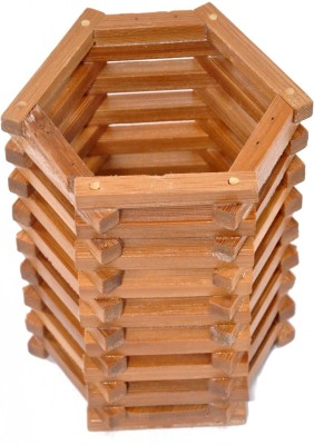 Ritwik Empty Cutlery Display Box Case(Bamboo  Holds 12 pieces)