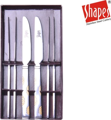 Shapes Stainless Steel Table Knife Set