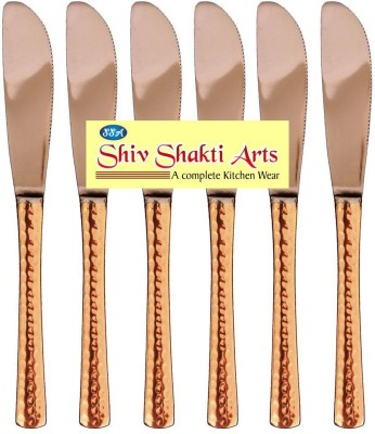 SSA COMBO OF 6 KNIVES Copper Butter Spreader Set(Pack of 6)