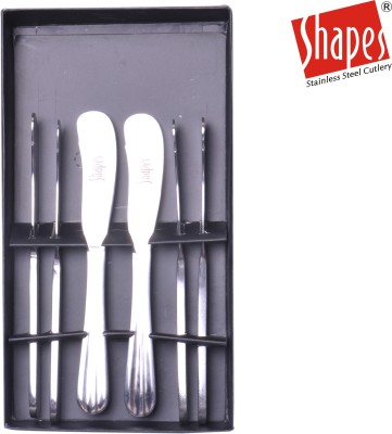 Shapes Stainless Steel Butter Spreader Set