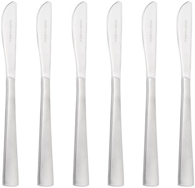 Sanjeev Kapoor Fusion Stainless Steel Dessert Knife Set(Pack of 6)
