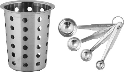 Montstar Kitchen Tool Holder -With M-Spoon Kit Stainless Steel Cutlery Set