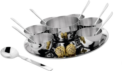 Tricon Flower Serving Set Stainless Stee...