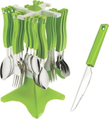 Apex Cutlery Set Stainless Steel, Plastic Cutlery Set