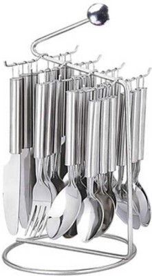 Pogo Ruby Stainless Steel Cutlery Set(Pack of 25)