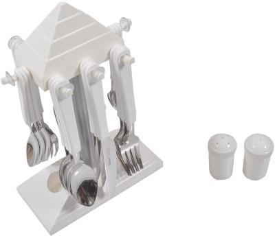 Glare Pyramid 24 Pcs. Stainless Steel, Plastic Cutlery Set
