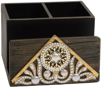Aradhana Arts Cutwork Wooden Cutlery Set