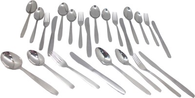 Bhalaria Oval Stainless Steel Cutlery Se...