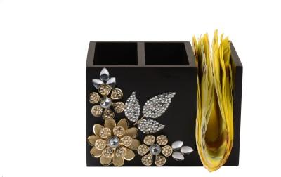Aradhana Arts Tissue Holder Wooden Cutlery Set