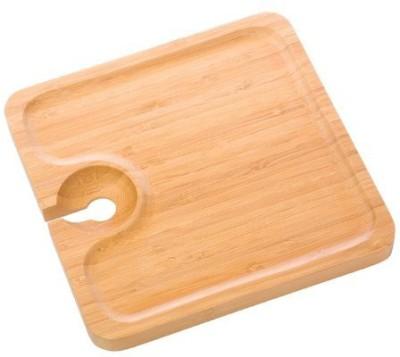 True Fabrications Bamboo Buffet Plate