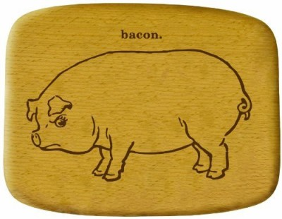 Talisman Designs Get Real Angry Animals Beechwood Cheese Board