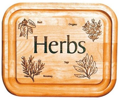 Catskill Craftsmen 7Inch Bar Board With Branded Herbs
