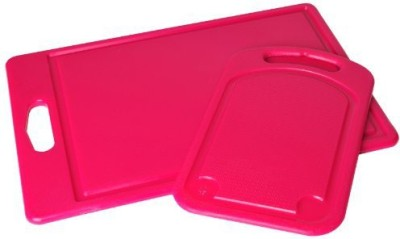 MDC Housewares Inc. P!Zazz 1052P 2Piece Poly Cutting Board Set