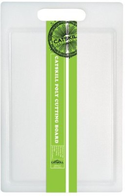 Catskill Craftsmen 12Inch Small Utility Poly Cutting Board With Groove