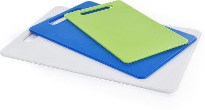 All Time Plastic Cutting Board(Multicolor Pack of 3)