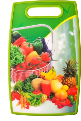 Kaos Best Cutting Board Plastic Cutting Board(Green Pack of 1)