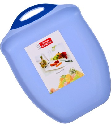 Kaos Best Cutting Board Plastic Cutting Board(Blue Pack of 1)