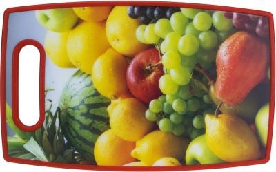 Kaos Best Cutting Board Plastic Cutting Board(Red Pack of 1)