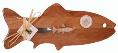 Out of the Woods of Oregon Small Fish Board With Trout Spreader