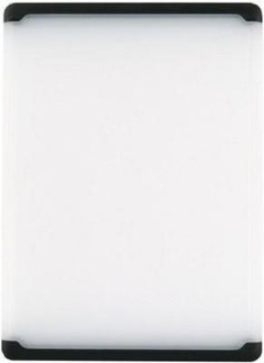 OXO Plastic Cutting Board(White, Black)