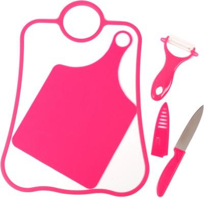 Chrome Plastic Cutting Board(Pink)