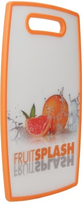 Chrome Plastic Cutting Board(Orange)