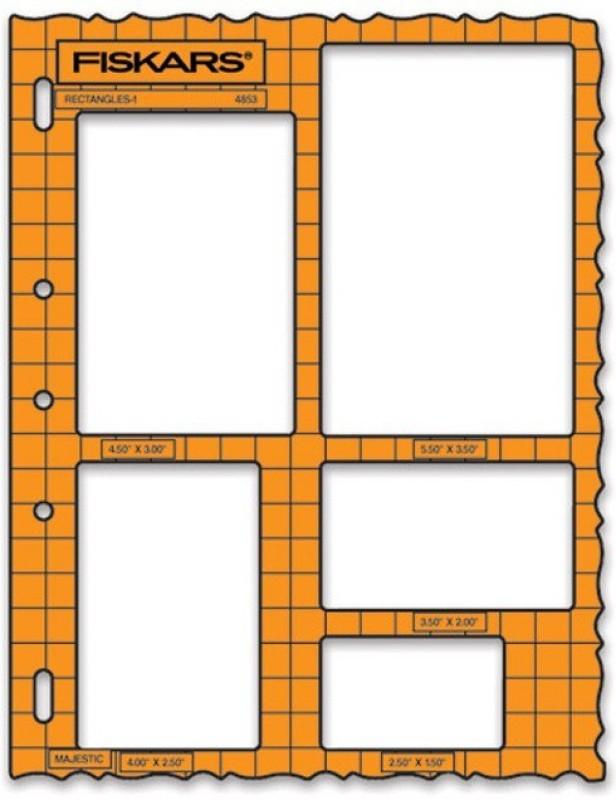 FISKARS F4853 Cutting Mat(1 cm x 22 cm)