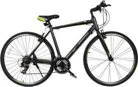 COSMIC SHUFFLE 700 C ALLOY HYBRID BICYCLE GREY - SPECIAL EDITION SHUFFLE28GY Hybrid Cycle