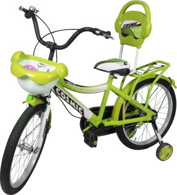 COSMIC 20 INCH FORCE 10 KIDS BICYCLE GREEN 20FORCE10GRWT Recreation Cycle