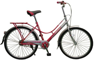 COSMIC COLORS LADIES BICYCLE (PINK/GREY) COLORS26PKGY Recreation Cycle