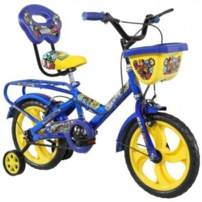 BSA CHAMP DOODLE BICYCLE BLUE 14 Road Cycle(Blue)