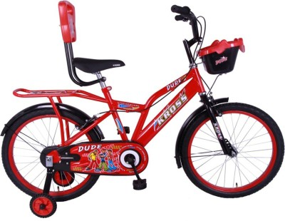 Kross Dude 20 Inches Kids Bicycle Red 402707 Recreation Cycle(Multicolor)