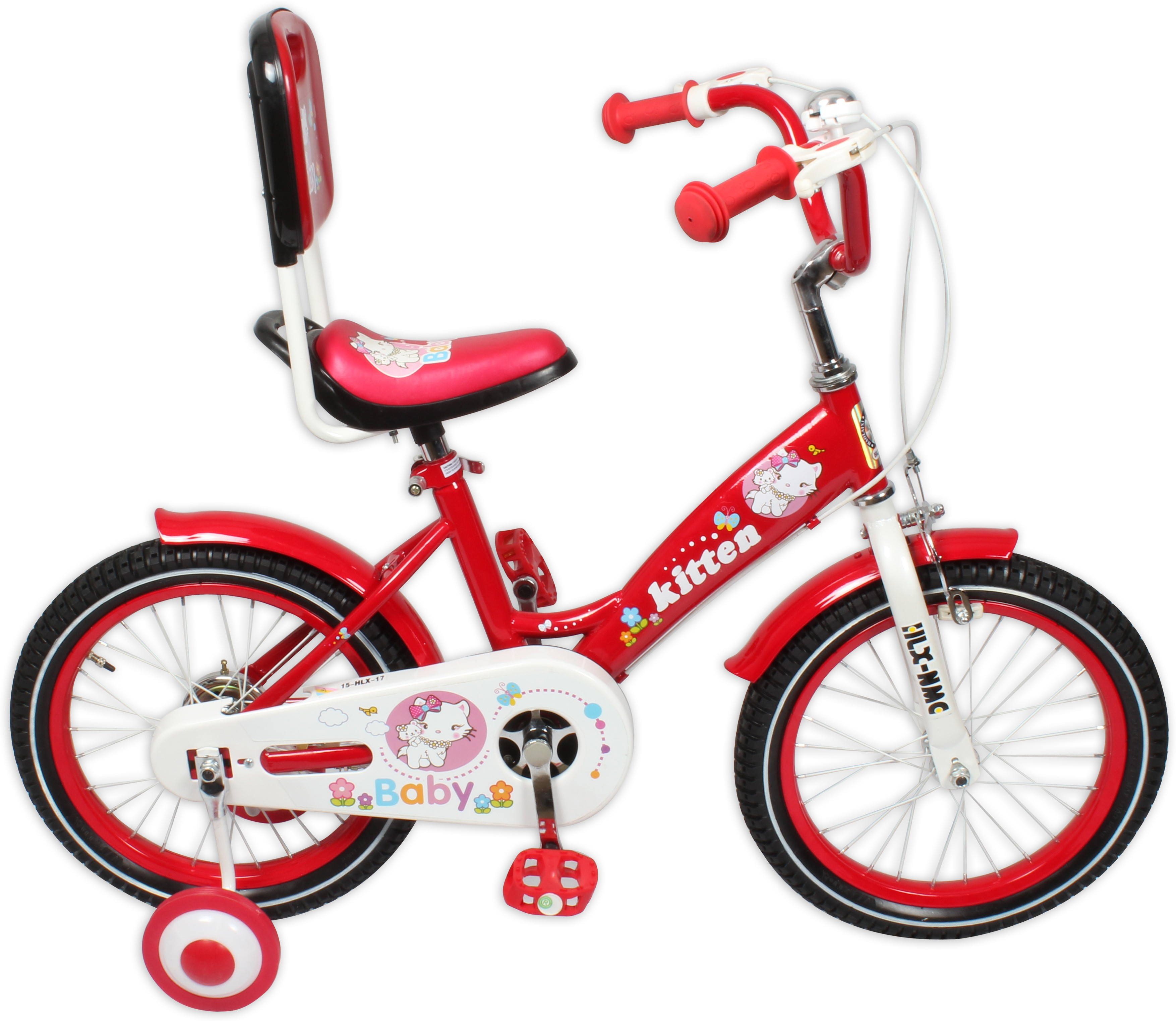 9be4c53eec8 HLX-NMC KIDS BICYCLE 16 KITTEN RED 16KITTENRD Recreation Cycle
