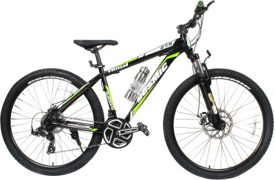 COSMIC TRIUM 27.5 INCH MTB BICYCLE 21 SPEED BLACK/GREEN-PREMIUM EDITION TRIUM26BKGR Hybrid Cycle