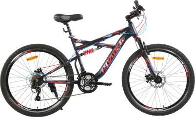HERCULES Hannibal 26T 21Spd NightBlack&Red 1FG279G0A18A01A Mountain Cycle