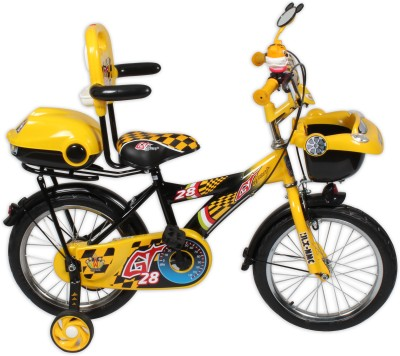 HLX-NMC KIDS BICYCLE 16 CAR-X YELLOW/BLACK 16CARXYLBK Recreation Cycle