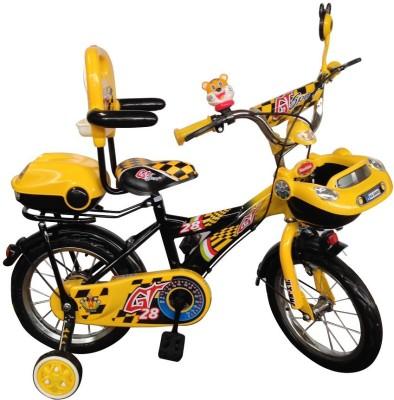 HLX-NMC KIDS BICYCLE 14 CAR-X YELLOW/BLACK 14CARXYLBK Recreation Cycle