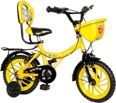 Addo india Kitty 12 Yellow Black KT-04 Road Cycle