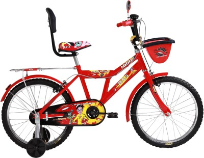 BSA CHAMP TOONZ 14 INCH BICYCLE with plastic wheel RED 14 Road Cycle(Red)