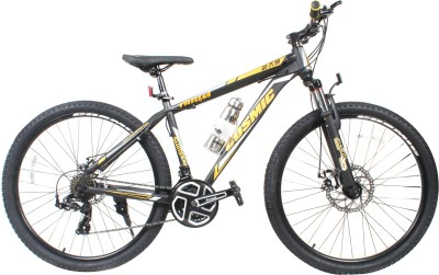 COSMIC TRIUM 27.5 INCH MTB BICYCLE 21 SPEED BLACK/GOLD-PREMIUM EDITION TRIUM26BKGLD Hybrid Cycle
