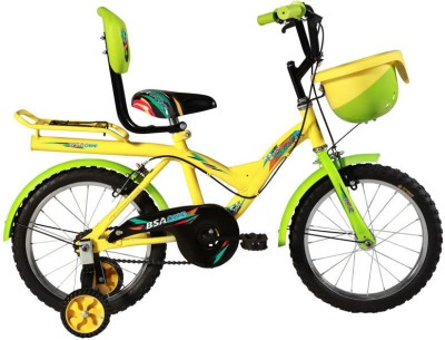 BSA CHAMP ROCKY JUNIOR 16 INCH BICYCLE YELLOW 16 Road Cycle(Yellow)
