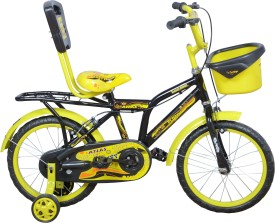 Atlas Fluffy IBC 16T FLSTBY16 Recreation Cycle(Black, Yellow)