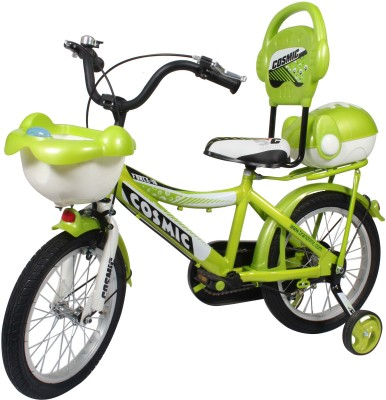 COSMIC 16 INCH FORCE 10 KIDS BICYCLE GREEN 16FORCE10GRWT Recreation Cycle