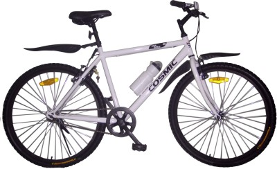COSMIC JUS BIKE MTB BICYCLE WHITE 26JUSBIKEWT Recreation Cycle